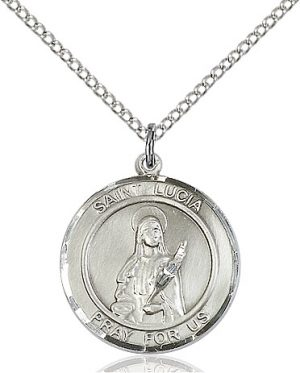 St. Lucia of Syracuse Pendant