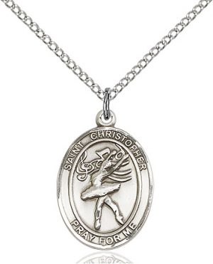 St Christopher / Dance Pendant