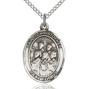 St Christopher / Choir Pendant