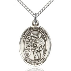 St Christopher / Karate Pendant