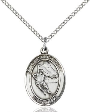 Guardian Angel/Hockey Pendant