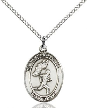 Guardian Angel/Track&Field-Men Pendant