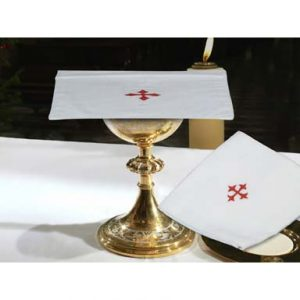 "Chalice Pall - 7"" x 7"" - 100% cotton"