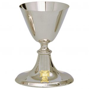 Knights of Columbus Chalice with 5-1⁄2˝ scale paten