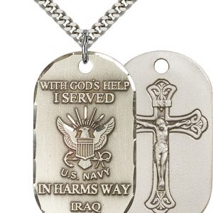Iraq - Navy Pendant