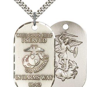 Marines Iraq Pendant
