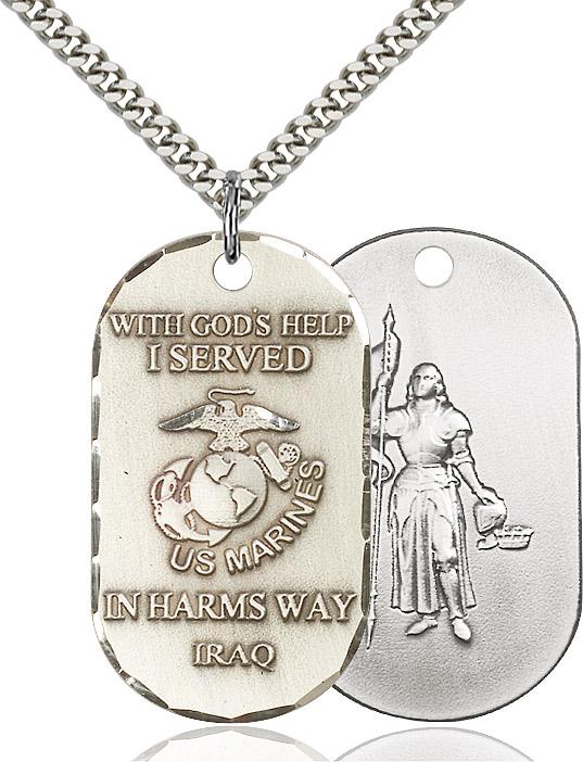 Marines Iraq/St Joan of Arc Pendan