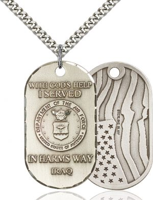 Air Force Iraq Pendant