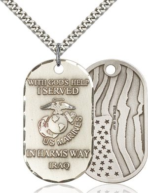 Marines Iraq Pendant