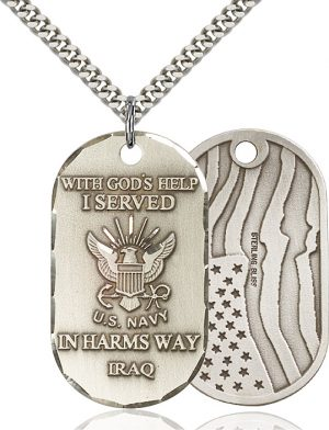 Iraq / Navy Pendant