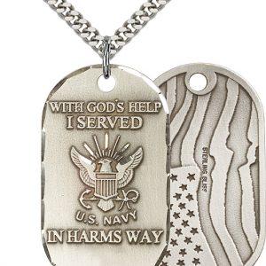 Navy Pendant
