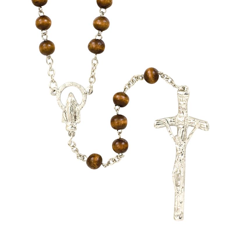 Rosary Cord Brown no. 9 Nylon 1/4 lb  |Brown Rosaries