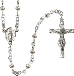4mm Corregated  Rosary