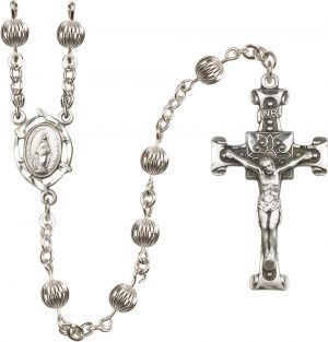 6mm Corregated  Rosary