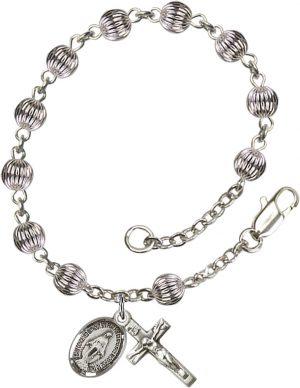 5mm Corregated  Rosary Bracelet