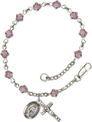 5mm Light Amethyst Swarovski Rundell-Shaped  Rosa