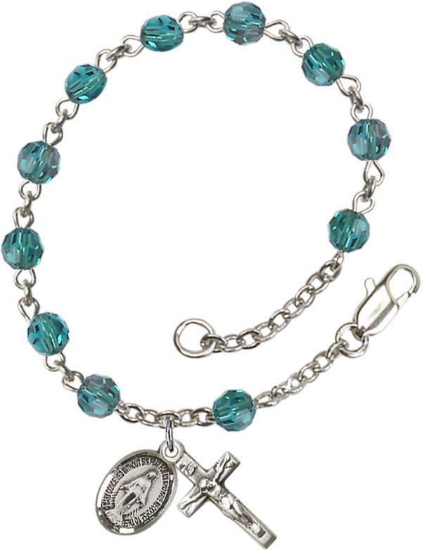 5mm Zircon Swarovski  Rosary Bracelet