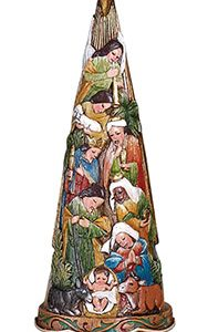 Ornament - Nativity Tree