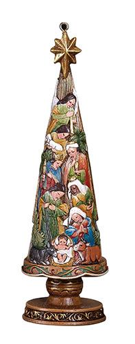 Ornament - Nativity Tree