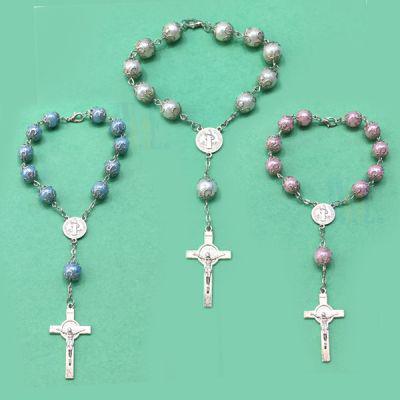 Auto Rosary - capped bead Benedict